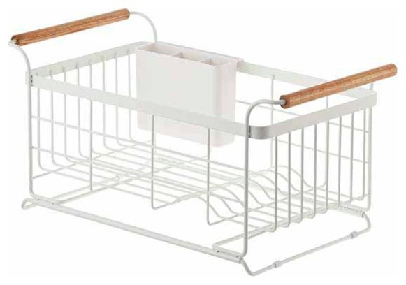 Tosca Over The Sink Dish Drainer Rack Contemporary Dish Racks