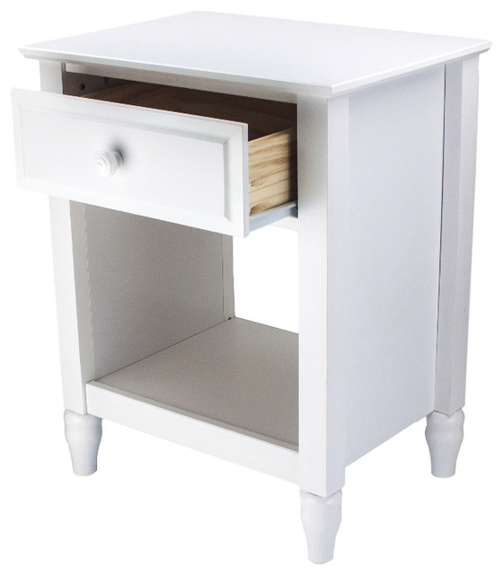 Cottage Single Drawer End Table/nightstand.