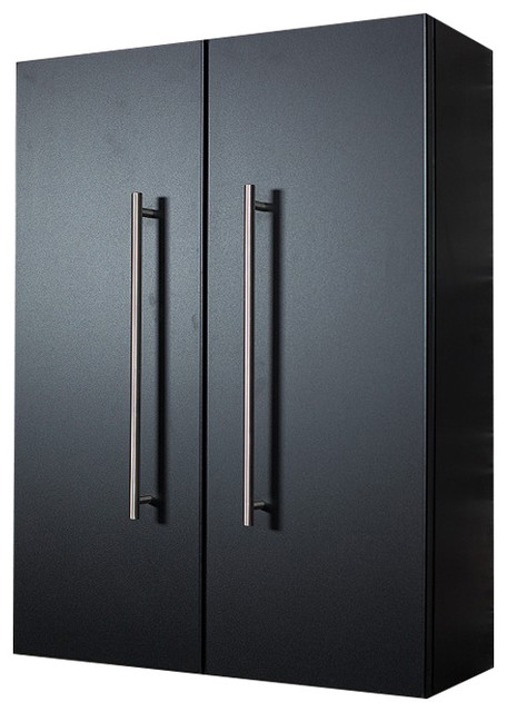 Emotion aurum l bathroom cabinet contemporary bathroom cabinets by emotion warenhandels gmbh - Bathroom cabinets black gloss ...