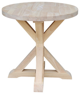 Ready to Finish Sierra Round End Table