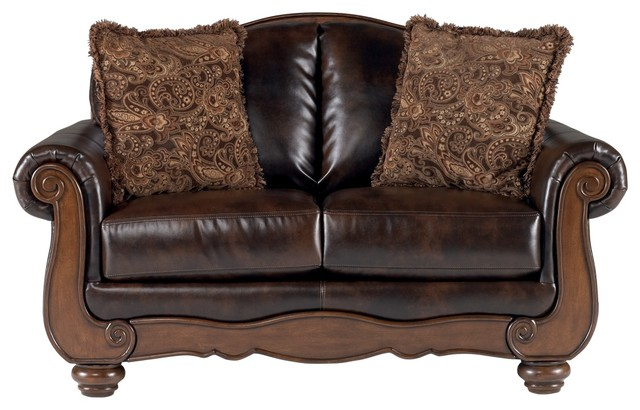 Ashley Barcelona Loveseat, Antique