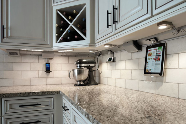 Awesome Addons For Kitchen Cabinets - Undermount lighting for kitchen cabinets