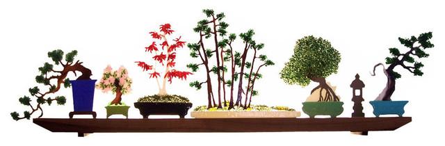 """Glasscape, """"bonsai""""."""