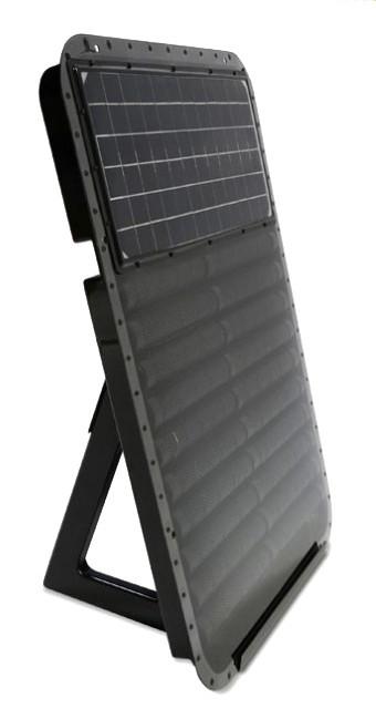 Portable Sun Seeker Solar Air Heater Modern Space