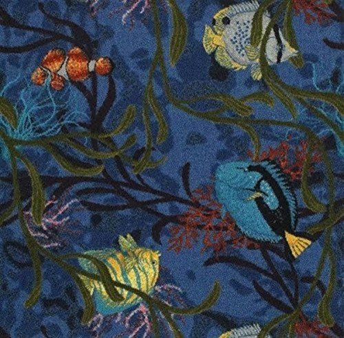 kaleidoscope rug under the sea 3 39 10 x5 39 4 beach style kids rugs by carpet queen. Black Bedroom Furniture Sets. Home Design Ideas