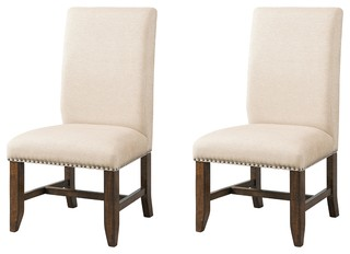 Francis Fabric Side Chairs, Set of 2