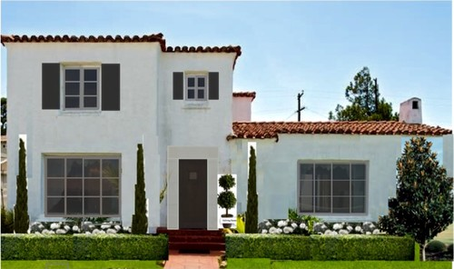 Good Spanish House Window Color Help With Spanish Home Design