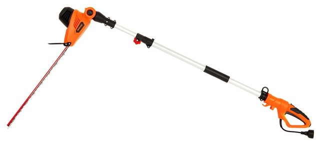 4.8-Amp Multi-Angle Corded Pole Hedge Trimmer With 20 Laser Blade.
