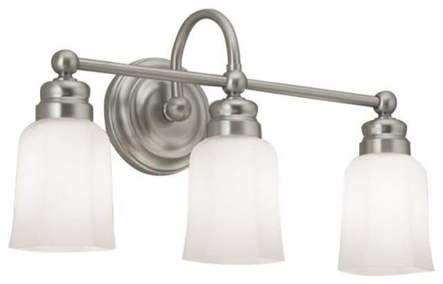 Emily 3 Light Sconce Traditional Bathroom Vanity