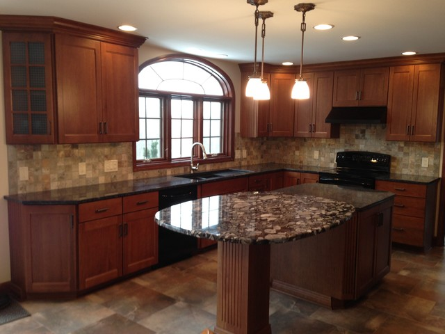 Macedon kitchen remodel - Traditional - New York - by Vella Bath ...