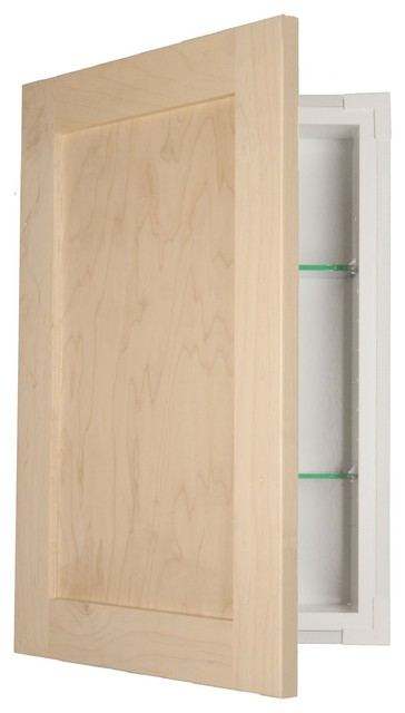 Shaker Style Frameless In-Wall Medicine Cabinet - Transitional - Medicine Cabinets - by WG Wood ...