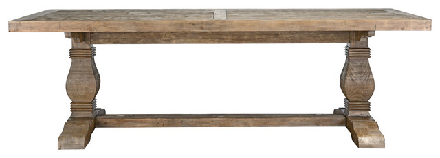 """Quincy Reclaimed Pine Dining Table by Kosas Home, 94"""""""