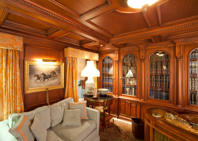 Pleasing Library Ct Traditional Home Office Other By Wl Interiors Largest Home Design Picture Inspirations Pitcheantrous