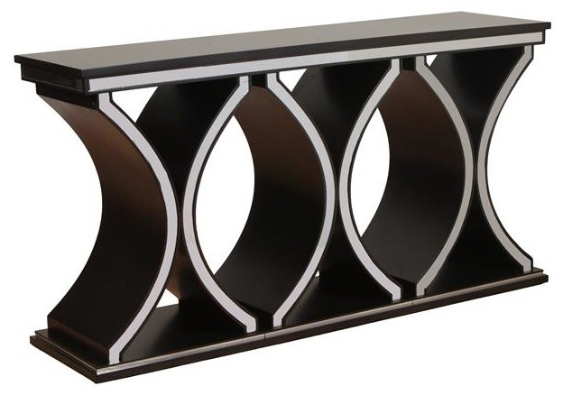 Powell Rossi Console Transitional Console Tables