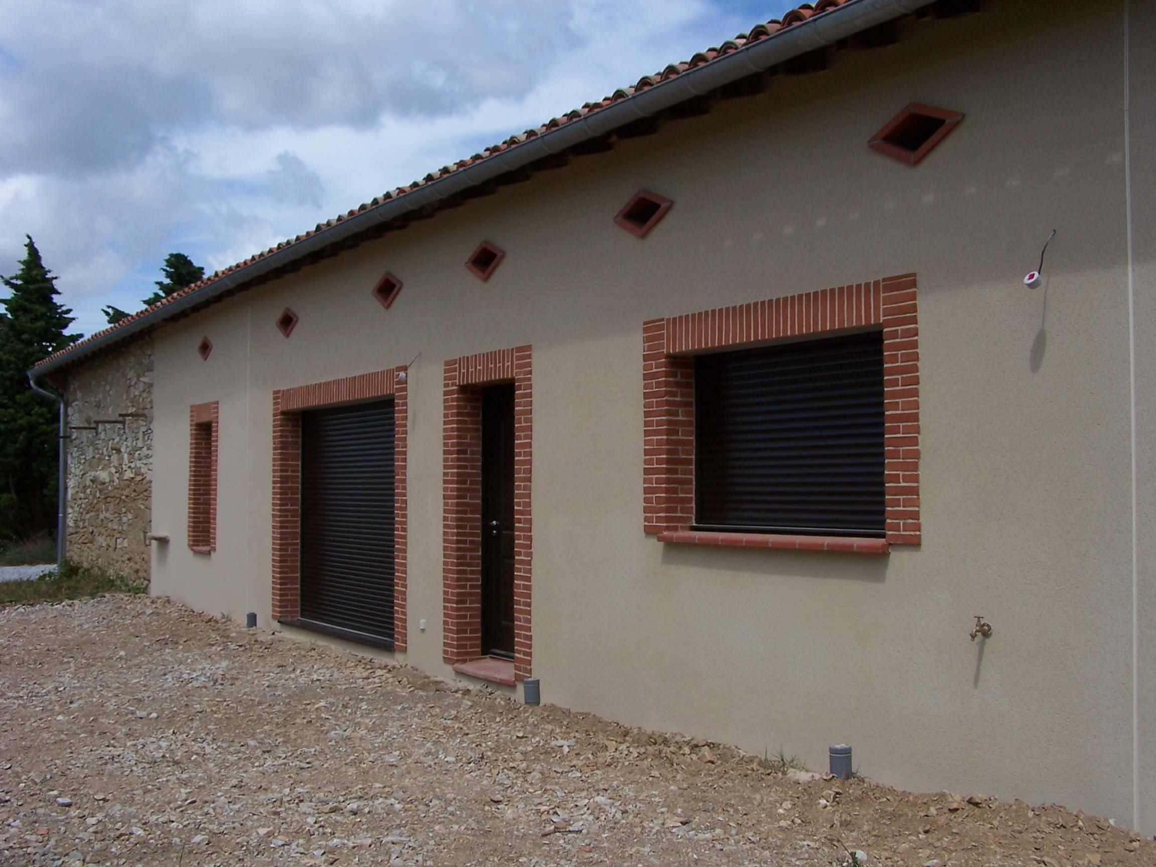 Rénovation d'une maison plain-pied