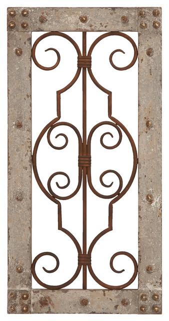 Wood Metal Wall Panel.