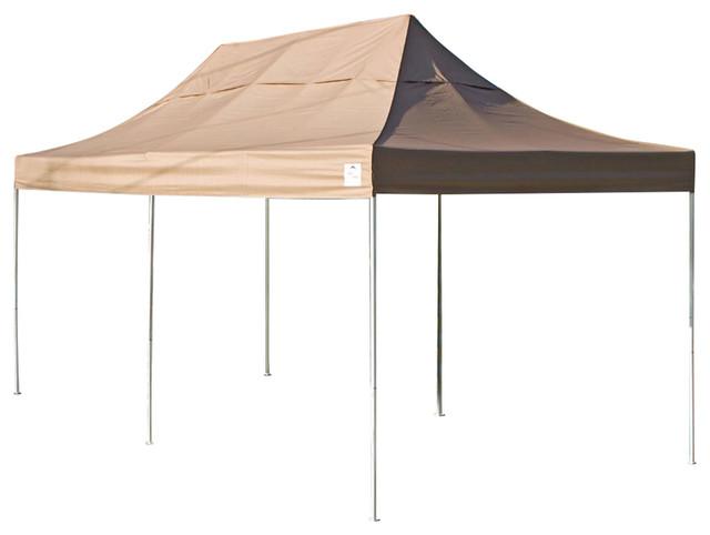 Shelterlogic 10&x27;x20&x27; Instant Garage, Desert Bronze.