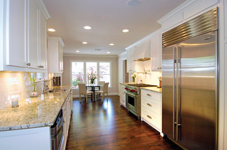 what is best flooring for kitchen selling house will my galley kitchen hurt me pics inside 9644