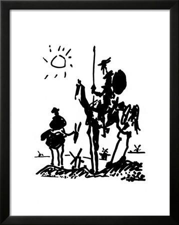 Don Quixote, C.1955 By Pablo Picasso.