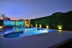 Un jardín 'playero' en Madrid para disfrutar en familia