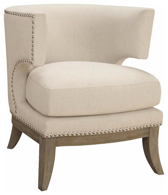 Strange Colfax Accent Chair White Machost Co Dining Chair Design Ideas Machostcouk