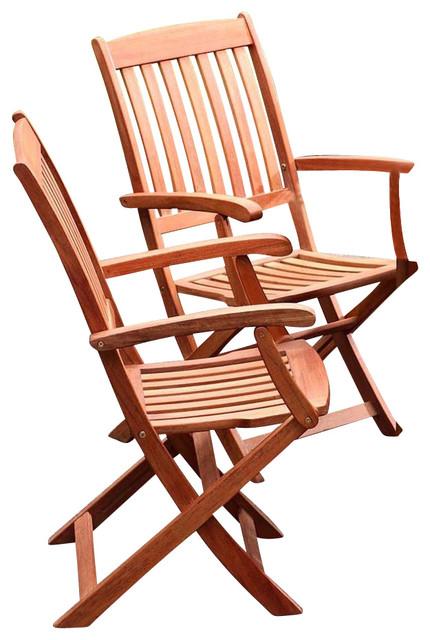 Spontaneity Folding Armchair, Set of 2