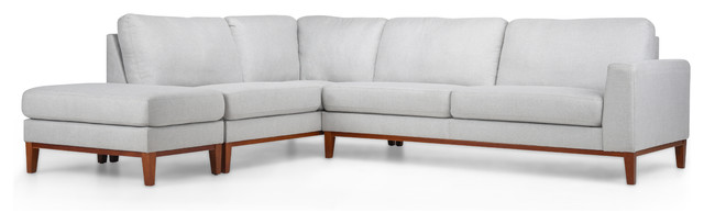 Deana Bumper Sectional, Left Facing.