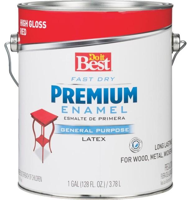 Rust-Oleum Red Latex Enamel 203761D