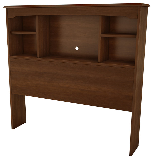South Shore Willow Twin Bookcase Headboard (39&x27;&x27;), Sumptuous Cherry.