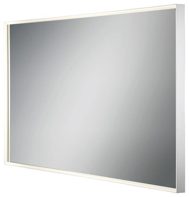 Eurofase Large Rectangular Edge-Lit Led Mirror.