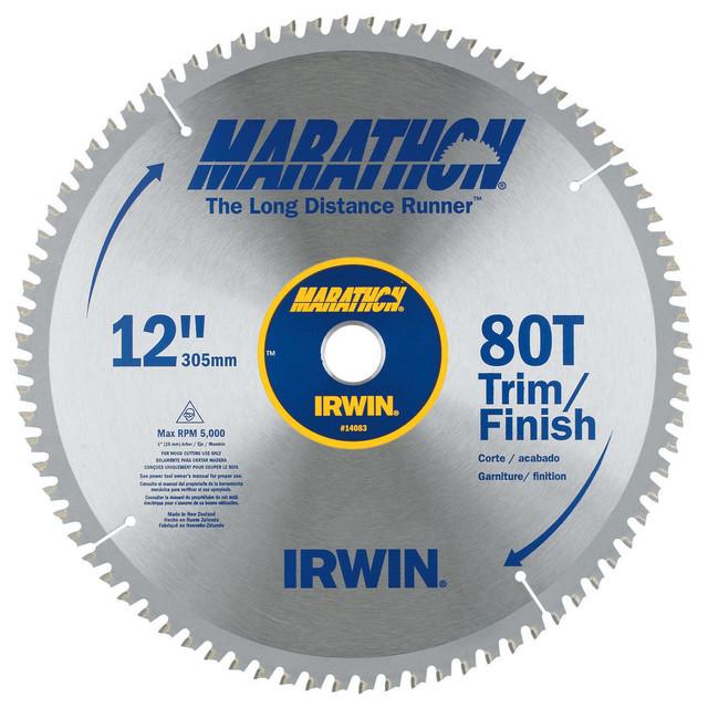 Irwin Marathon 14083 12 80 T Circular Saw Blade.