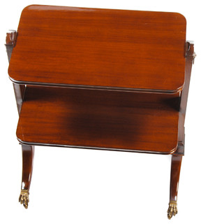 Two Tier Trolley, Mahogany Trolley