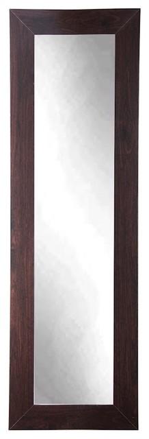 Brandtworks Walnut Full Length Mirror, 16x71.