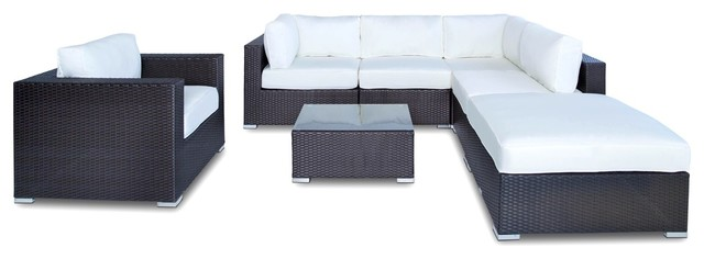 Incredible Outdoor Sofa Sectional All Weather Wicker 7 Piece Resin Couch Set Squirreltailoven Fun Painted Chair Ideas Images Squirreltailovenorg