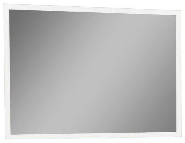 Ib Mirror Dimmable Backlit Bathroom Mirror Rectangle 48x36, 6000k.