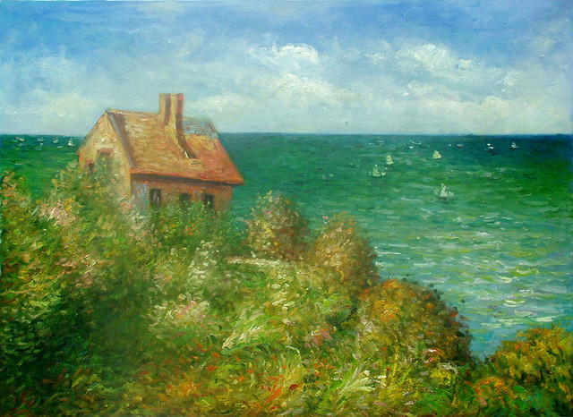 the claude monets fishermans cottage on the cliff at varengeville Home claude monet, fisherman's cottage on the cliffs at varengeville claude monet, fisherman's cottage on the cliffs at varengeville.