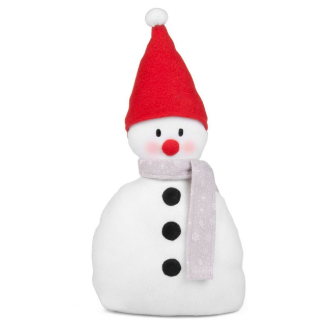 White snowman door stop contemporary holiday accents for B q christmas decorations