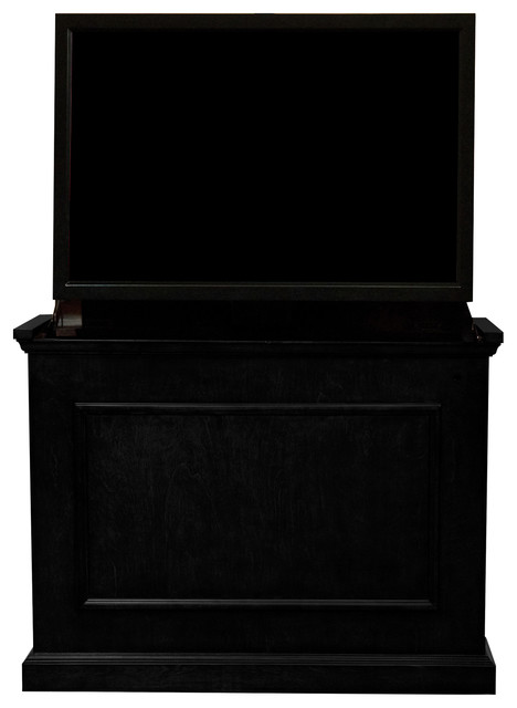 """Touchstone Elevate, Black Tv Lift Cabinets For Up To 42"""" Flat Screen Tvs."""