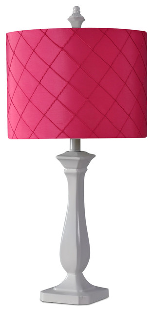 Passion Table Lamp : Diamond Lamp, Passion Pink - Contemporary - Table Lamps - by Kangaroo ...