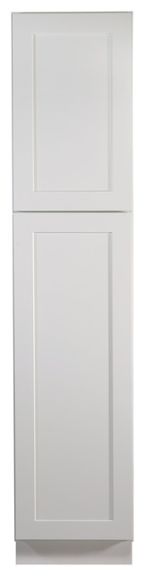 "Design House 561787 Brookings 18"" Pantry Cabinet, White Shaker"
