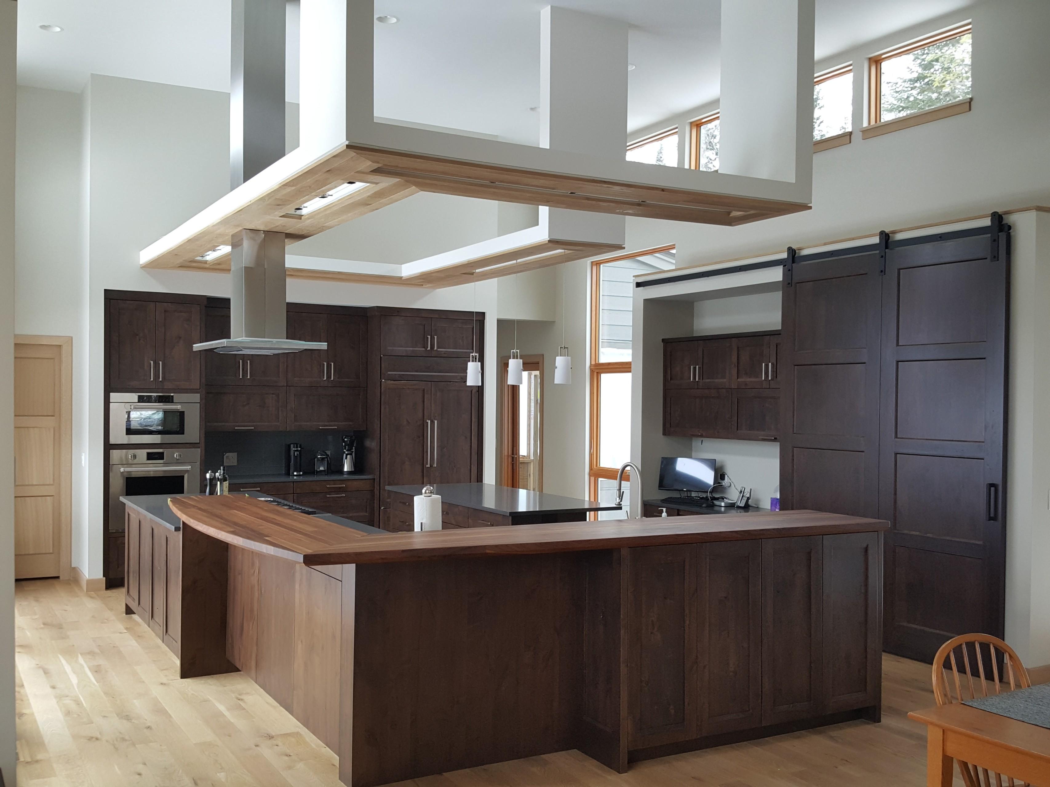 Bayfield - kitchen and lighting design