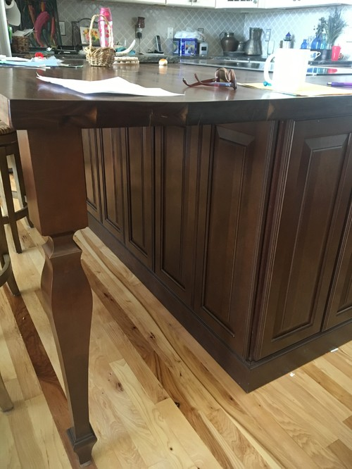 walnut kitchen island walnut kitchen island warping 3345