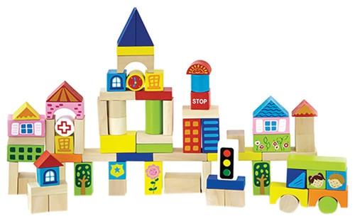 Kids Play City Blocks
