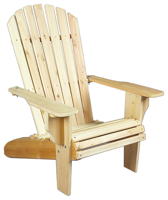 Oversized Adirondack Cedar Chair