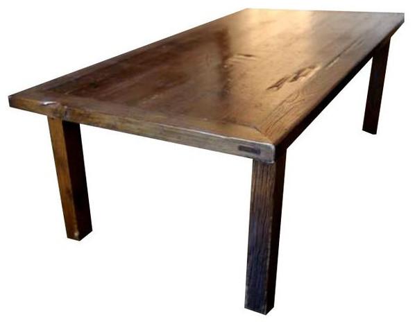 Bon Natural Elm Wood Farm Dining Room/Work Table   $5,000 Est. Retail   $2