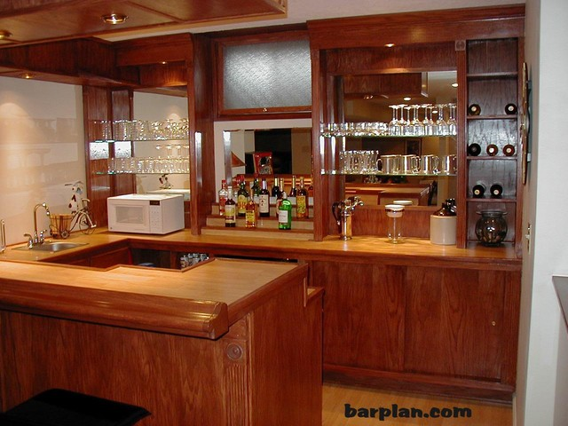 Easy Home Bar Plans Home Bar Samples Traditional