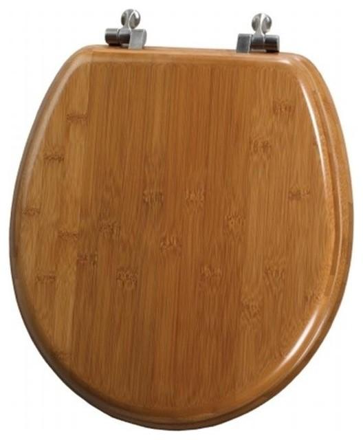 Mayfair Bemis 9401ni 568 Bamboo Round Toilet Seat