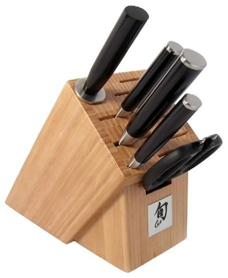 Kershaw KAI Shun Classic 6-Piece Knife Block Set