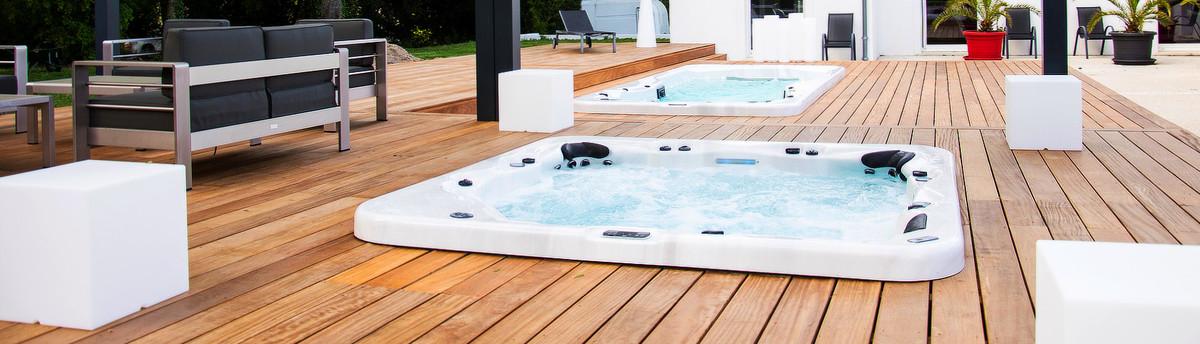 Terrasse bois r sineux pin sylvestre for Concept piscine design