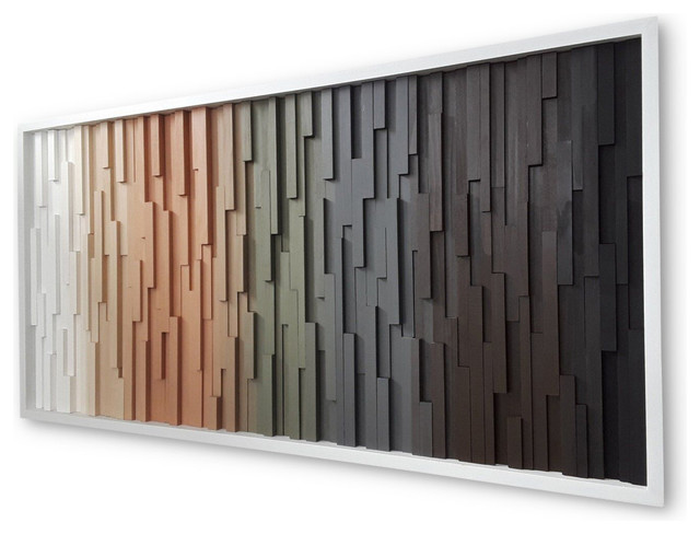Modern Wood Wall Art Home Decor Contemporary Wall Accents By Modern Rustic Art